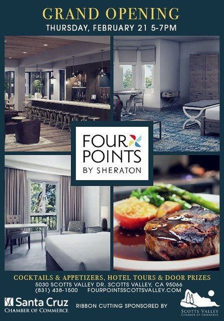 Grand Opening Ribbon Cutting - Four Points By Sheraton